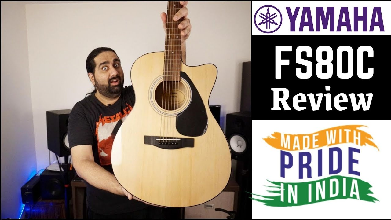 Is The New Yamaha Acoustic Guitar Worth The Price ? | Yamaha FS80C Unboxing And Review
