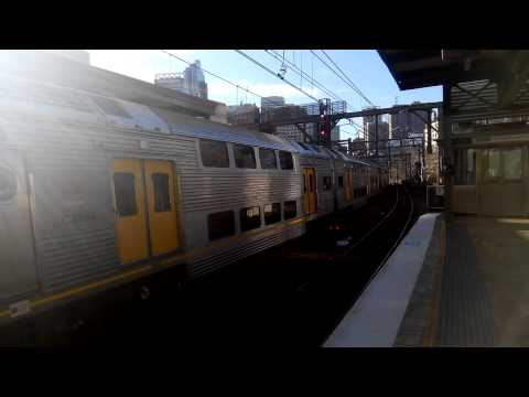 Sydney Trains C2+C10 departing Central P21