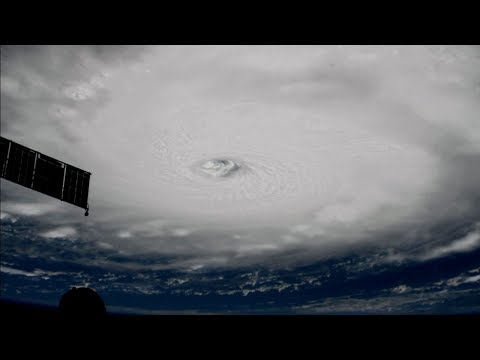 ISS passes over Hurricane Irma, Sept. 5