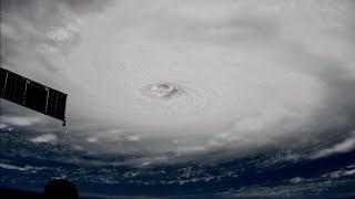 ISS passes over Hurricane Irma, Sept. 5 thumbnail