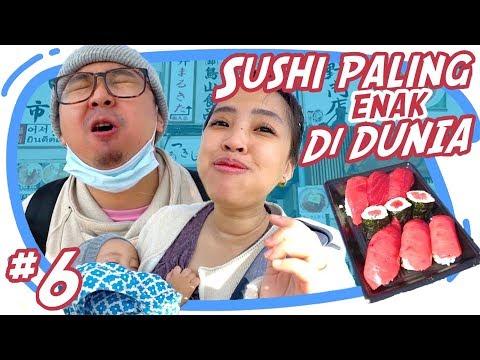 SUSHI PALING ENAK SEDUNIA TERNYATA DISINI - Japan Vlog #6