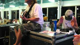 """Passafire acoustic  """"Respect"""" on the 311 Cruise 2012"""