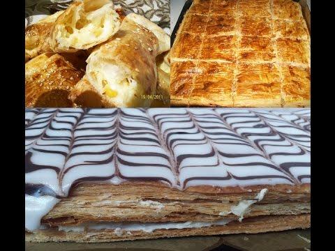 comment-faire-une-pâte-feuilletée-la-plus-facile-au-monde-how-to-make-puff-pastry-very-easy