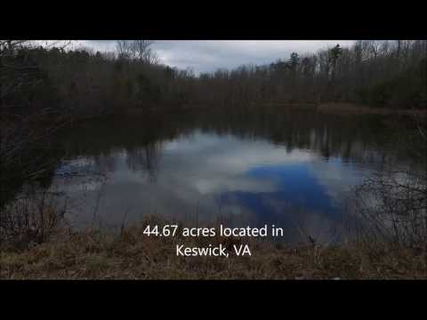 449 Woodslodge Ln Keswick VA 22947 Drone Video Of 44.67 Acres