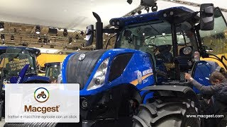 New Holland Trattori T4, T5, T6, T7, Mietitrebbie, preview #Agritechnica 2017 [HD]