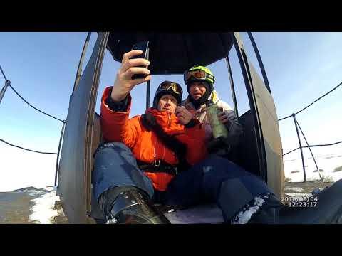 Snowkiting lake Ilmen.race kurizko-iron house kurizko