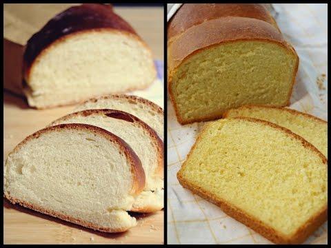 """Osnovni recept za domaći bijeli kruh/hljeb – """"mekan kao duša"""" (+ verzija sa kukuruznim brašnom)"""