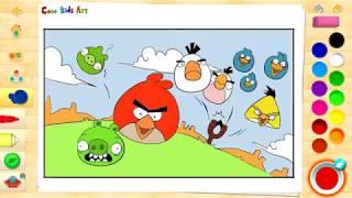 앵그리버드 그리기, 색칠하기 / Angry Birds …