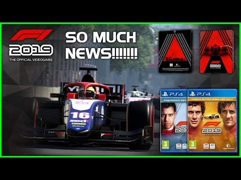 Codemasters F1 2019 | F2 CONFIRMED, LEGENDS EDITION & MORE! |