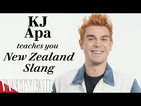 KJ Apa Teaches You New Zealand Slang | Vanity Fair
