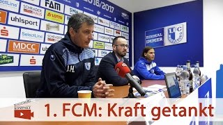 1. FC Magdeburg: Kraft getankt