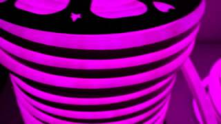 Гибкий светодиодный неон. Видео-обзор