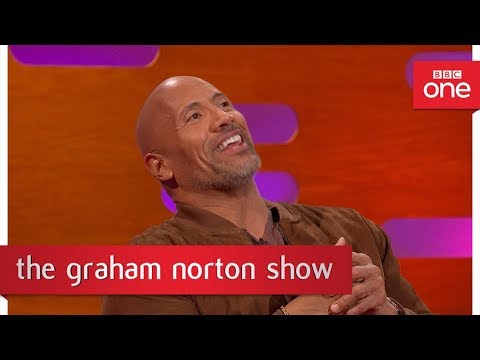 Dwayne Johnson raps his character's song from Moana - The Graham Norton Show- BBC