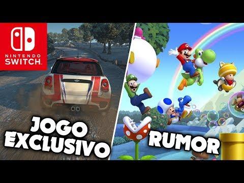 Gear Club Unlimited 2 exclusivo para Nintendo Switch | Rumor de New Super Mario Bros. U Deluxe