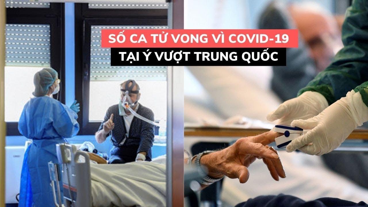 Hơn 220.000 người nhiễm virus corona, số ca tử vong tại Ý vượt Trung Quốc