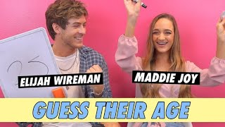Maddie Joy vs. Elijah Wireman - Guess Their Age