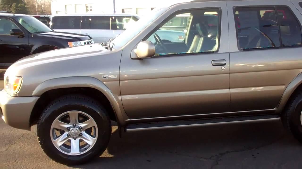Nissan Pathfinder 2004 Platinum Edition Youtube