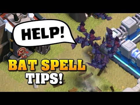 *BATS STILL WORK* Tips For Using The Bat Spell After The UPDATE | Clash Of Clans