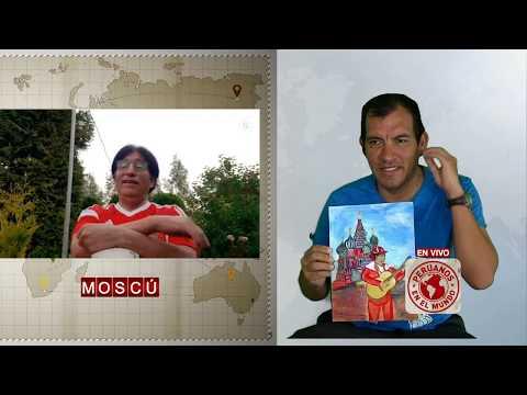 De Chosica a Moscú : Peruanos en Mundo - En Vivo