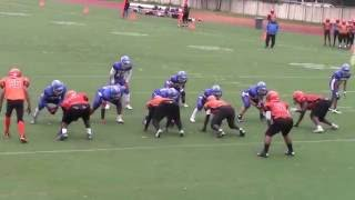 NYC PSAL Football 2016 Game 6 Evander Childs Campus Tigers v William Cullen Bryant Owls