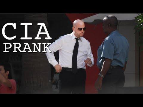 CIA Prank in Los Angeles