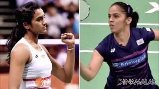 PV Sindhu smashes Saina to enter India Open semis