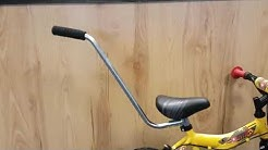 Parent handle for kids bike