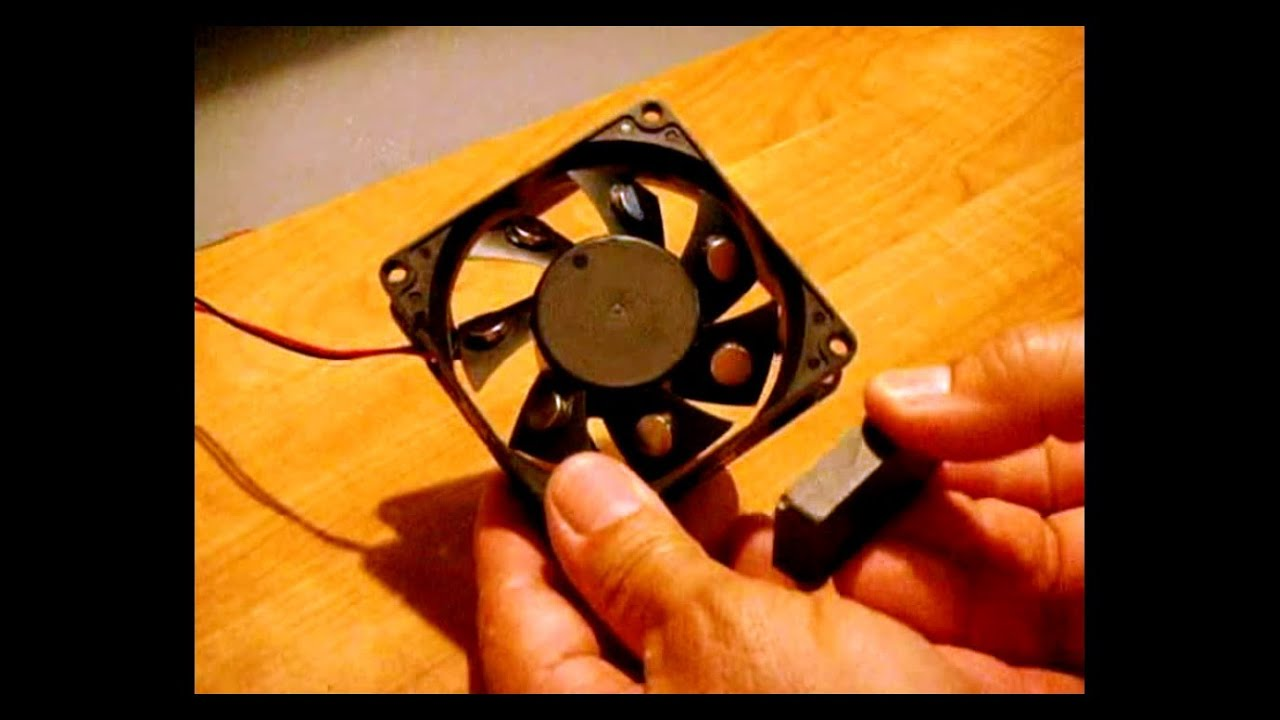 a5da7ffe064 Free Energy ~ Case Fan Magnet Motor   Real or Fake  - YouTube