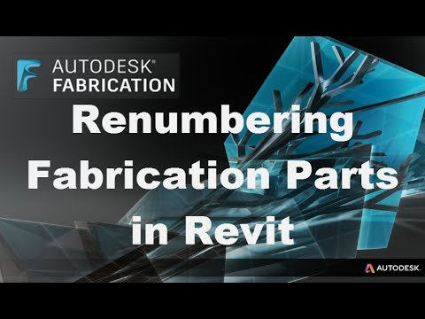 Renumbering Tool for Fabrication in Revit | Applied Software