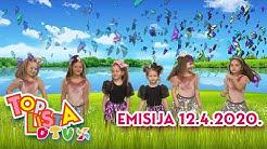TOP LISTA DJEČJE TELEVIZIJE 12.4.2020.