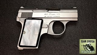 Fraser 25 Auto Review   Baby Browning Clone Made by Bauer Arms
