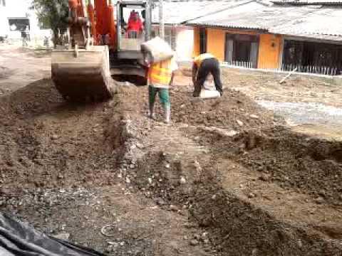 Mezcla suelo cemento youtube - Cemento para suelo ...
