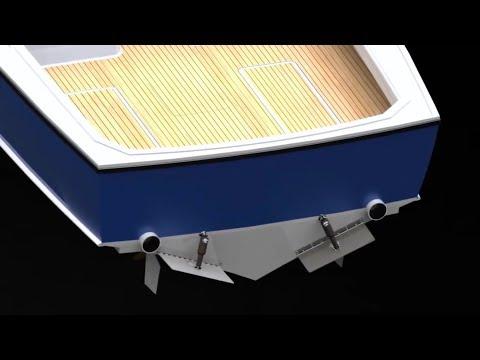 Транцевые плиты Lenco Marine Complete TrimTab для катера 4-21 метра