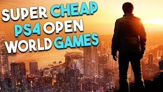 5 SUPER CHEAP PS4 Open World Games You Should PLAY!