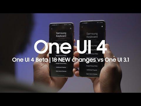 One UI 4.0 Beta | 18 NEW Changes vs One UI 3.1