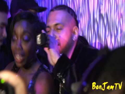 Sean Paul & Estelle Performing Come Over live @ Element, NYC Sunday 1/18/09