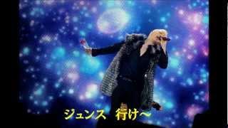 JYJのチャジャッタをコンサートで歌いたくて作りました。強引な空耳...