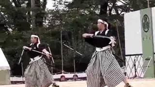21年9月23日に行われました会津祭りの 行事の一つ、「会津藩公行列」時...