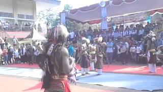 Caci TMII seni adat budaya Manggarai