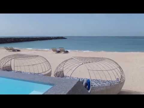 Hotel review - Zaya Nurai Island Abu Dhabi (pool and villa)