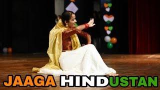 """JAAGA HINDUSTAN-GOLD"" | Independence Day | Partriotic Dance Performance | CRIMINALZ CREW | INDIA"