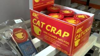 Cat Crap Lens Cleaner Anti-Fog…