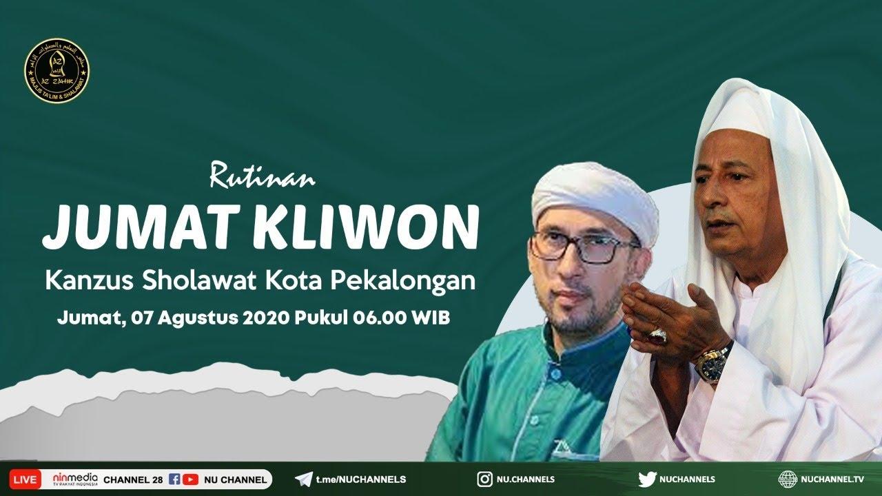 🔴 (LIVE) Rutinan Selapanan Jum'at Kliwon Kanzus Sholawat Pekalongan Jum'at 7 Agustus 2020