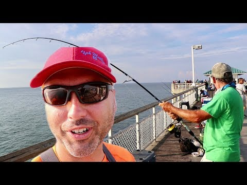 Me And Yak Motley Went Pier Fishing Crazy
