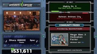 Mighty No. 9 by greenzsaber in 46:58 - AGDQ 2017 - Part 96