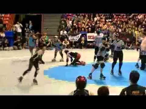 Rocky v Oly final jams WFTDA2010