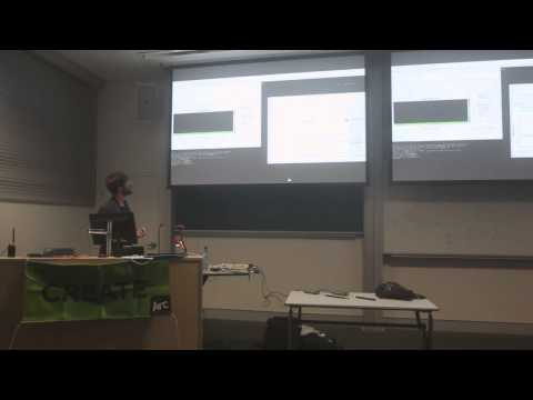 CREATE Presents: Balint Seeber - Hacking the Wireless World with Software Defined Radio