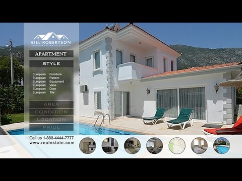 Real Estate After Effects template - YouTube