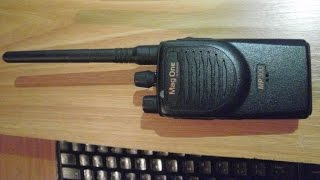 Программирование радиостанции Motorola Mag One MP300