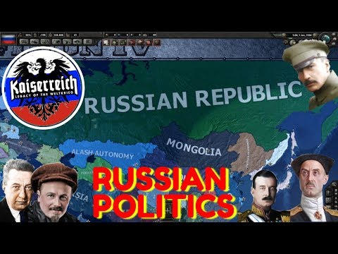 Hearts of Iron IV Kaiserreich: Intro to Russian Politics (Russia Guide)